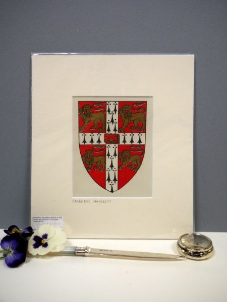 Cambridge University,  Arms & Blazons